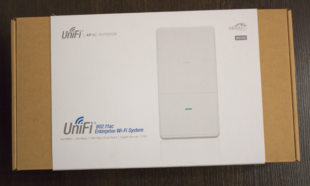 Обзор Unifi Outdoor AC