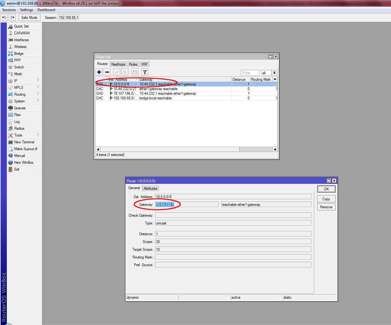Настройка MikroTik на работу с провайдером Beeline через L2TP