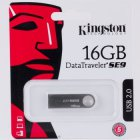 Kingston Kingston 16 Gb USB 2.0 DataTraveler SE9H (металлический корпус)