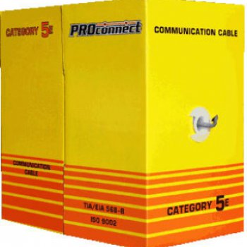 PROCONNECT Кабель UTP  4PR  24AWG  CAT5e  305м  OUTDOOR PROCONNECT