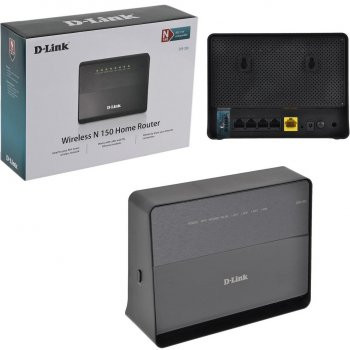 D-Link D-Link DIR-300/NRU/B7C 802.11 b/g/n (150 Мб) Беспроводной маршрутизатор with 4-ports 10/100 Мбит/с