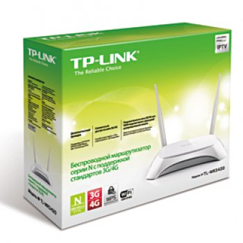 TP-Link TP-Link TL-MR3420 Маршрутизатор 300Mbps Wireless N 3G Router, Compatible with UMTS/HSPA/EVDO USB mod
